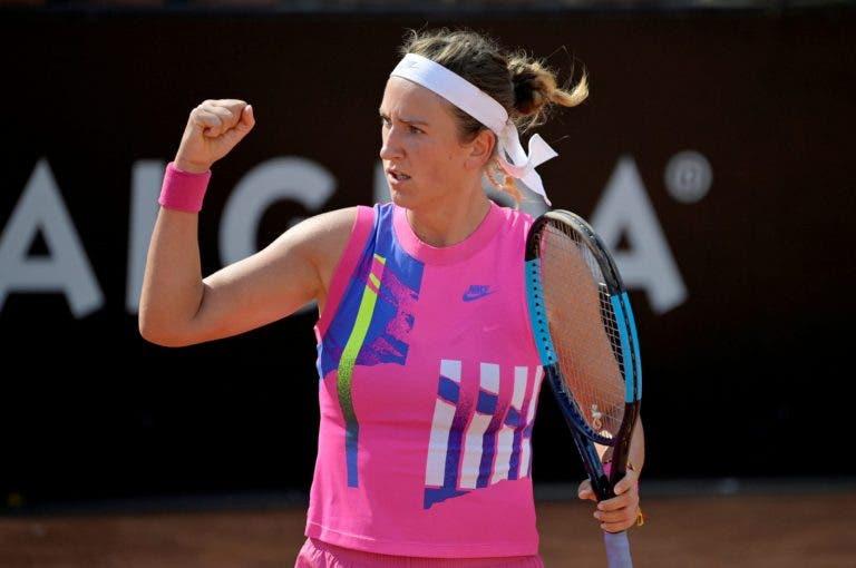 Azarenka: «Este não vai ser um Roland Garros normal»