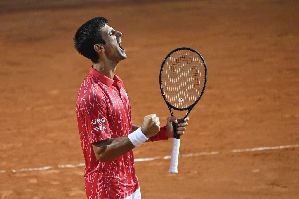 [VÍDEO] O ponto que devolveu a Djokovic o estatuto de rei dos Masters 1000