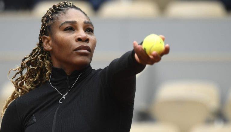 Serena: «No ténis raramente podes expressar-te, mas o importante é ser humilde»
