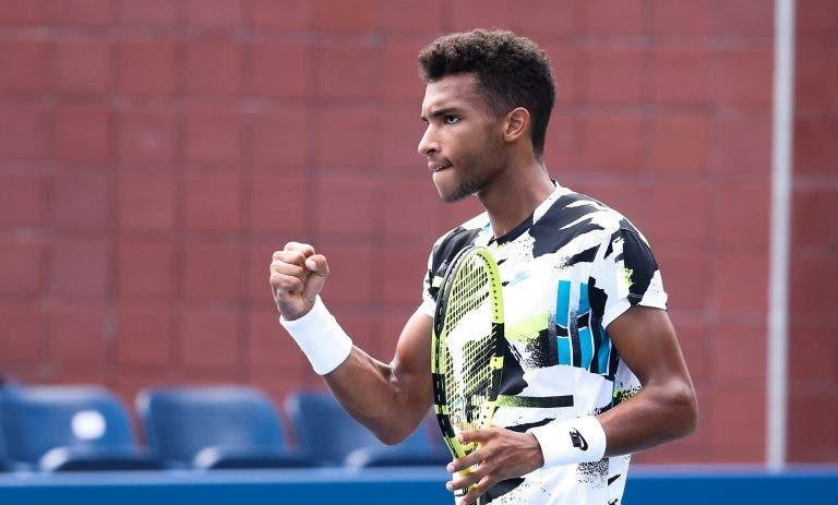 Aliassime com objetivo bem definido: «Quero conquistar um título do Grand Slam»