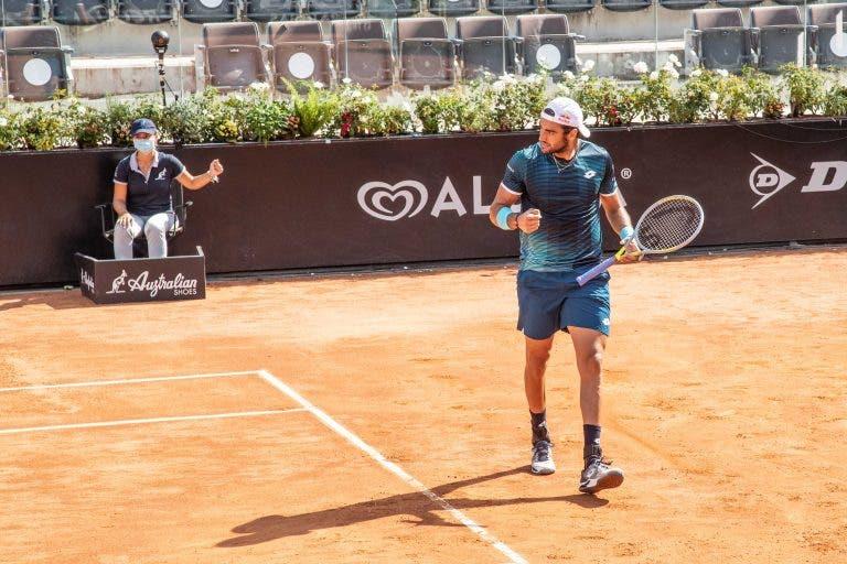 Berrettini e Dimitrov vencem e estão nos 'quartos' do Masters de Roma