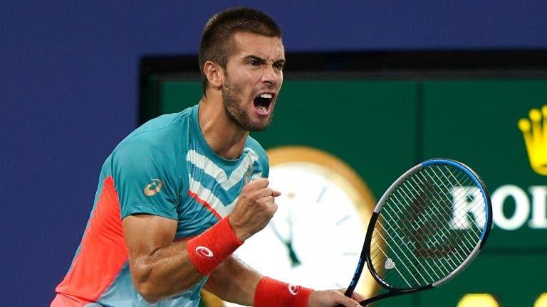 Coric: «Ouvir que era o próximo Djokovic ou Federer fez-me achar que ia ser top 10 depressa»