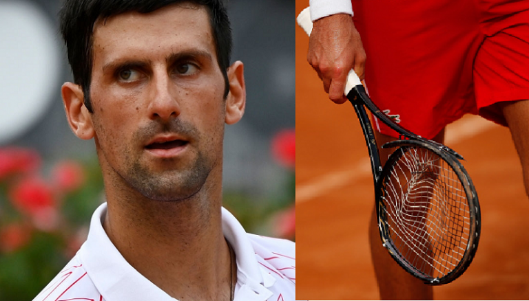 Djokovic desvaloriza momento de fúria: «Eu sou assim»
