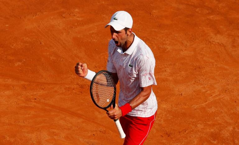 Djokovic: «Episódio de Nova Iorque está ultrapassado. Estou focado em Roland Garros»