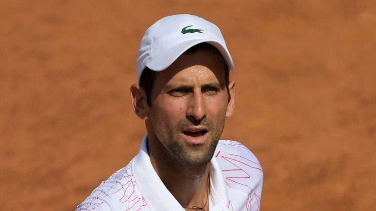 Djokovic precisou de 88 minutos para vencer o 1º set: «Foi um dos mais longos da minha carreira»