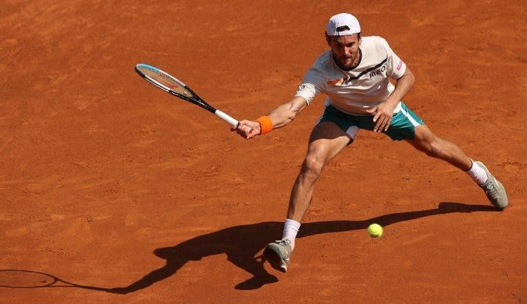 João Sousa já tem court e hora para a sua estreia em Roland Garros