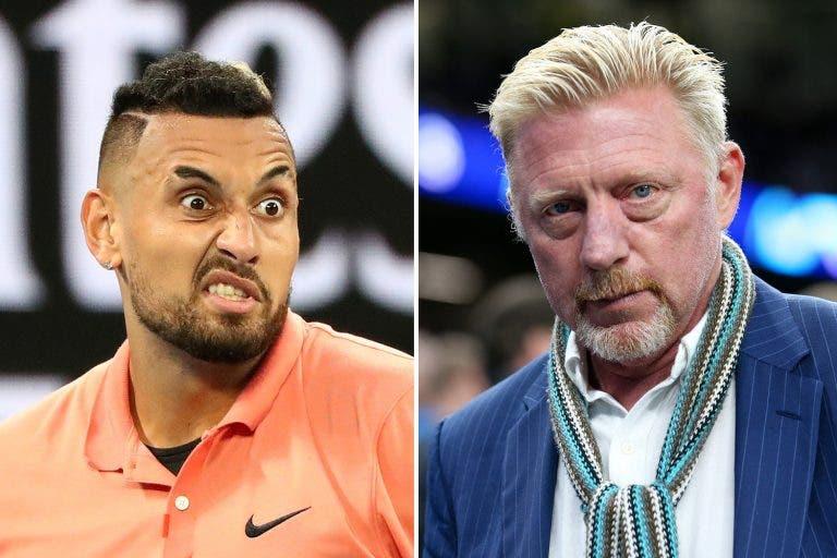 Crítico de Kyrgios, Becker elogia-o: «Com o ténis dele pode ganhar Wimbledon»