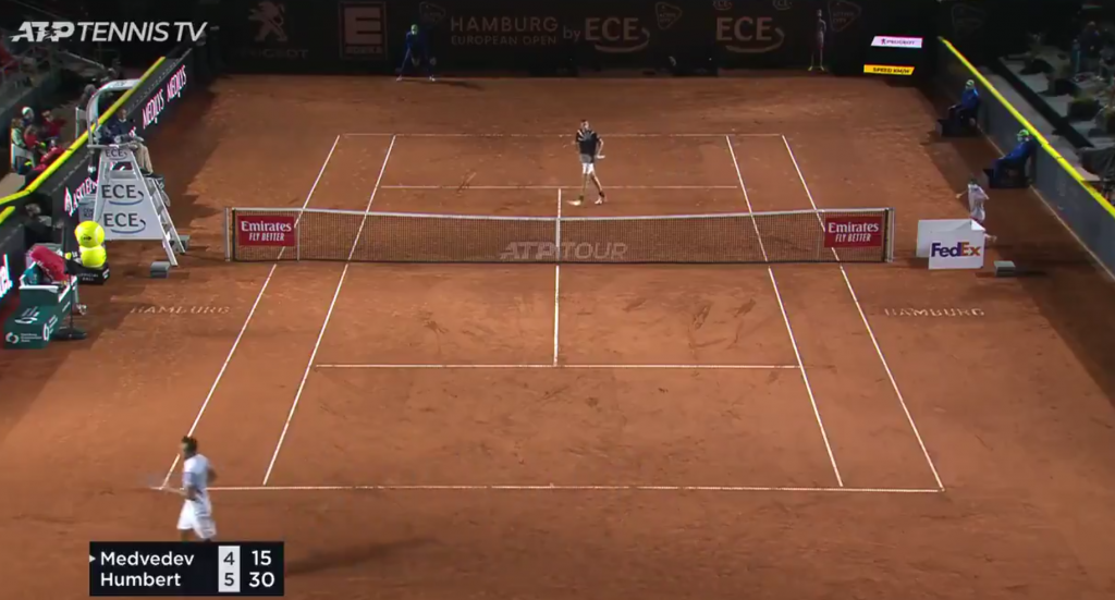 [VÍDEO] Humbert ganha a Medvedev uma das melhores trocas de bolas do ano