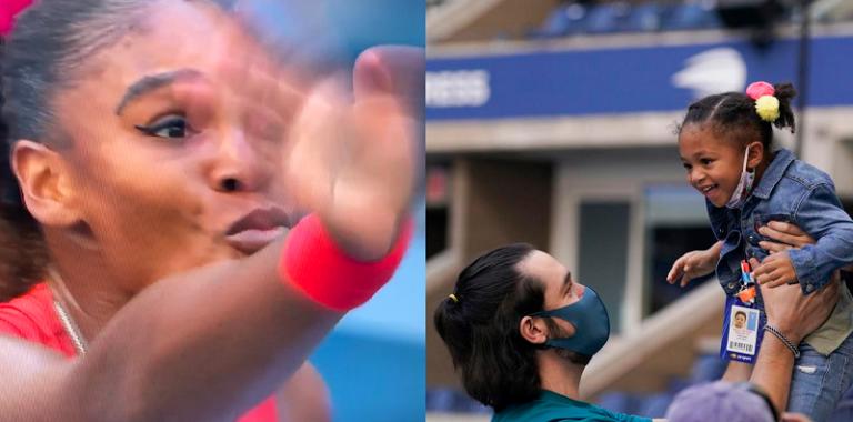 [VÍDEO] O bonito momento Serena e Olympia no US Open