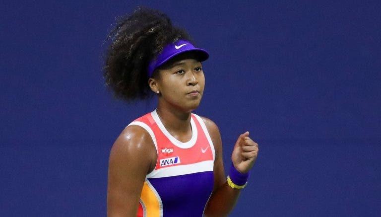 Osaka: «Pensava que a minha vida dependia do ténis, mas agora tento encontrar o equilíbrio»