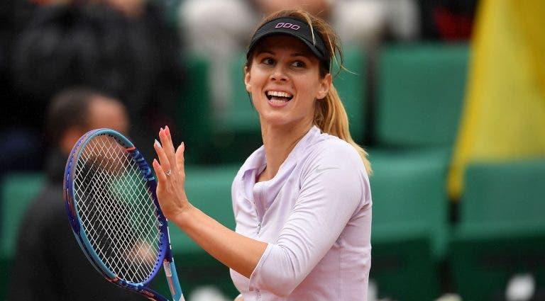 Pironkova: «É fantástico jogar sem uma pressão adicional»