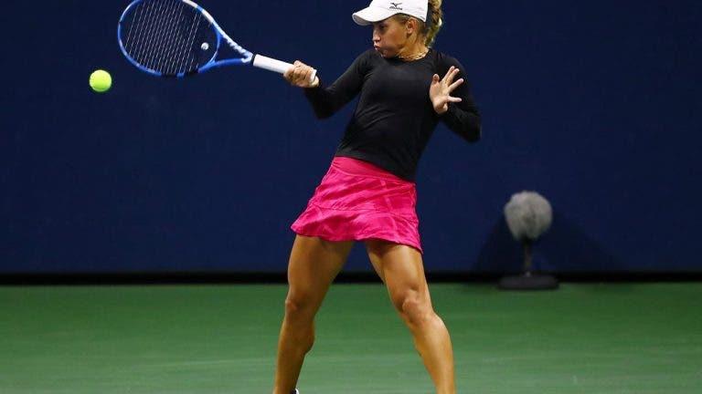 Putintseva passa por Martic e está nos 'quartos' do US Open pela 1.ª vez