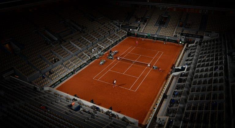 Roland Garros é adiado uma semana e 'atropela' época de relva