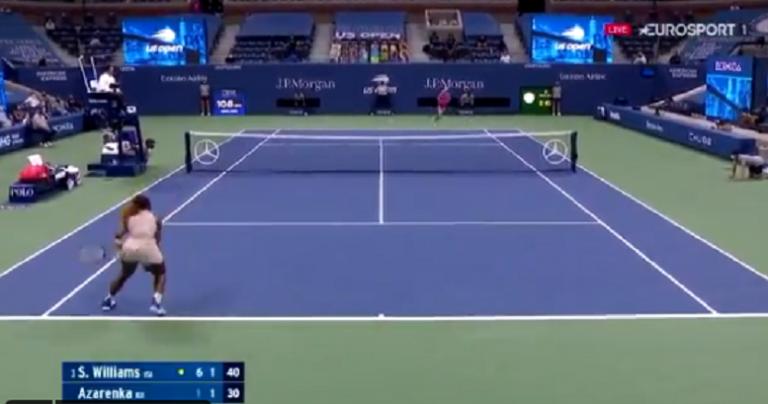 [VÍDEO] Serena e Azarenka jogaram ponto incrível no US Open
