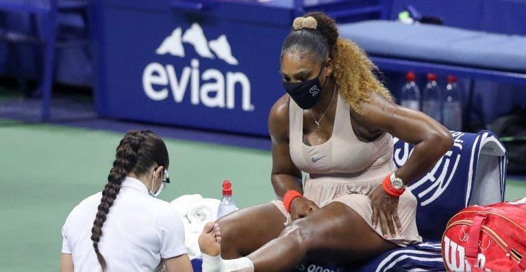 Serena não se desculpa com lesão no pé e garante: «Vou a Paris»