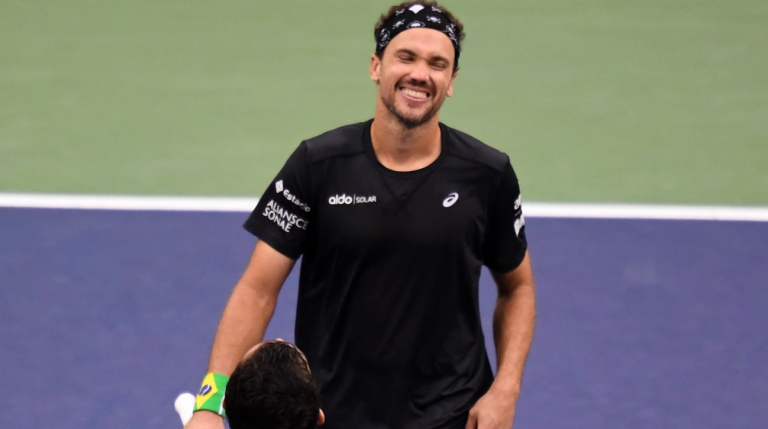 Bruno Soares nas meias-finais de pares do US Open