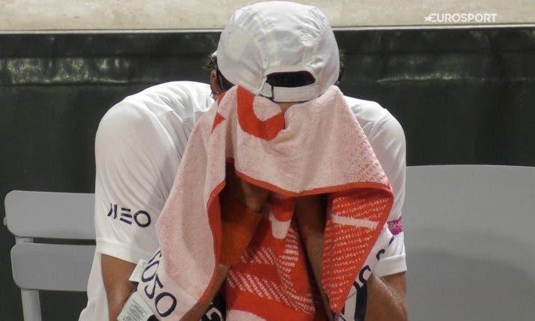 João Sousa eliminado na primeira ronda de Roland Garros com nova exibição desapontante