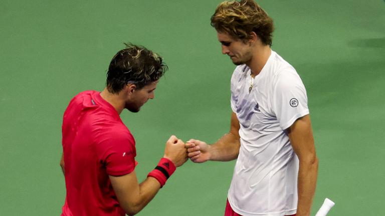 Djokovic elogia Thiem e Zverev: «Vocês têm grande coração e inspiram muitos tenistas»