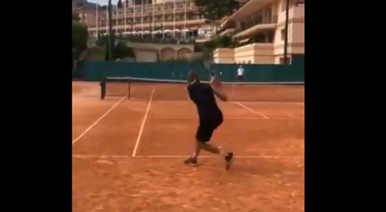 [VÍDEO] Zverev reencontra-se com Ferrer e já treinam em terra
