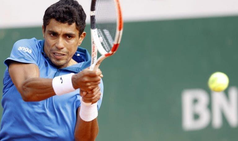 Participação de Thiago Monteiro em Roland Garros termina na terceira ronda