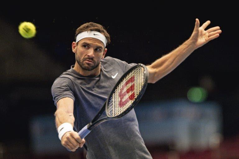 Dimitrov alcança melhor vitória do ano e elimina Tsitsipas rumo aos 'quartos' em Viena