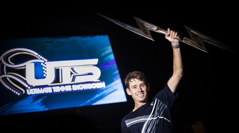 Alex De Minaur campeão da terceira edição do Ultimate Tennis Showdown