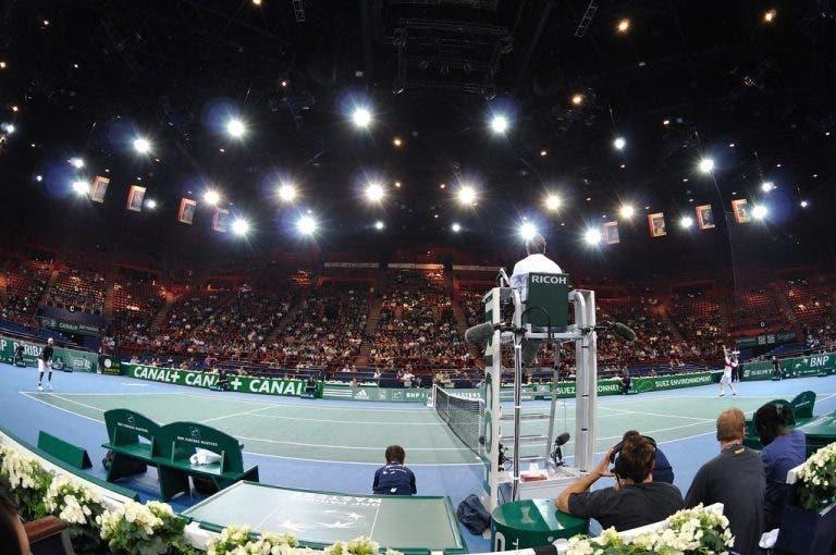 Masters 1000 de Paris joga-se sem público e com jogadores no mesmo hotel de Roland Garros