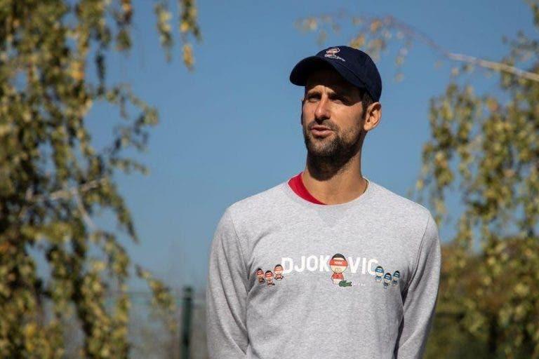 Djokovic: «Lamento os falhanços no US Open e Roland Garros»