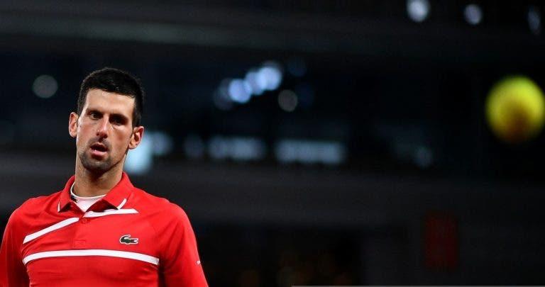 Djokovic e novo incidente com juiz de linha: «Foi um déjà vu estranho»