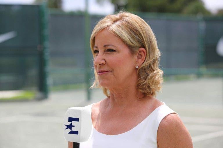 Evert: «Nos Estados Unidos, o desporto favorito das jovens é o ténis»