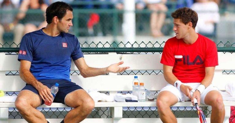 Schwartzman: «Trato Federer como se fosse o meu melhor amigo»