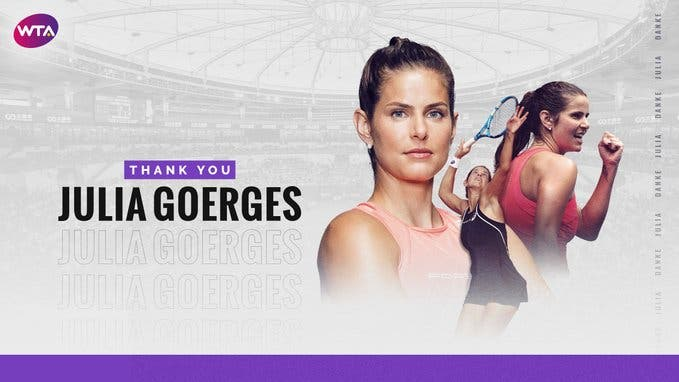 Julia Goerges, ex-top 10 mundial, retira-se do ténis profissional