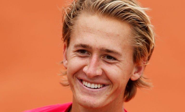 Korda: «Estou mais tranquilo desde que ultrapassei o que se passou no US Open»