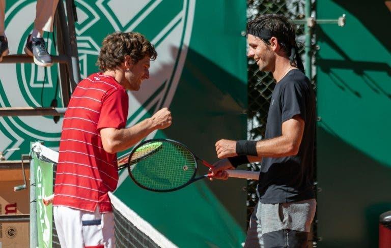 Elias: «Nadal e Djokovic jogaram 50 vezes, eu e o Pedro é todos os dias desde os 12 anos»