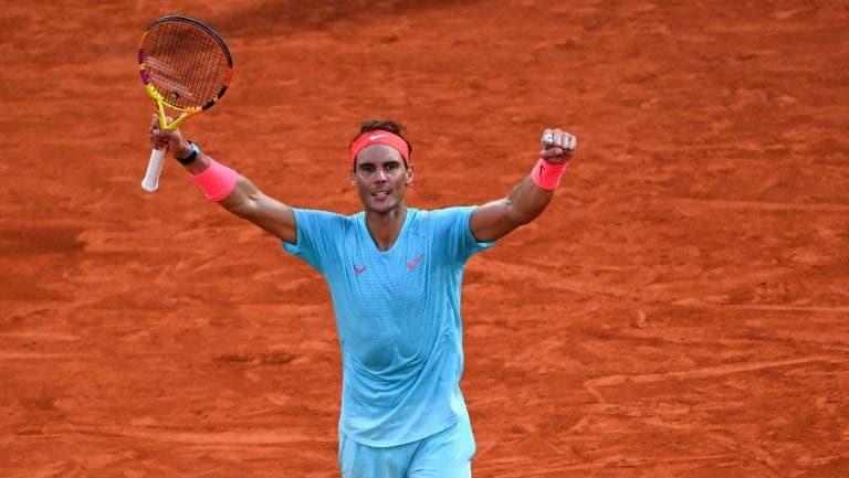 Nadal fica a três finais de Grand Slam de Federer e a um encontro de igualar os títulos