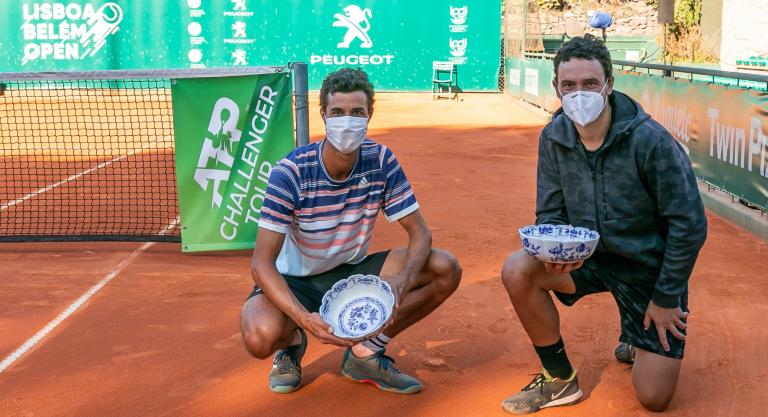 Gonçalo Oliveira conquista 10.º título Challenger de pares no Lisboa Belém Open