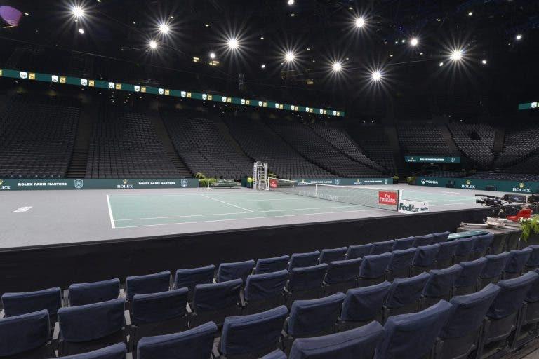 Eis o quadro principal do ATP 1000 de Paris que contou com desistências de última hora