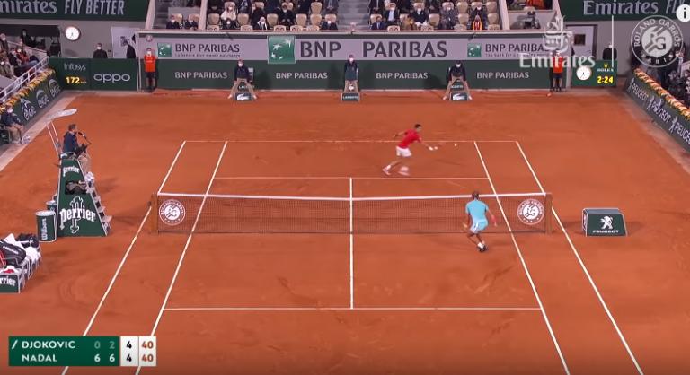 [VÍDEO] Os melhores momentos da exibição incrível de Nadal contra Djokovic