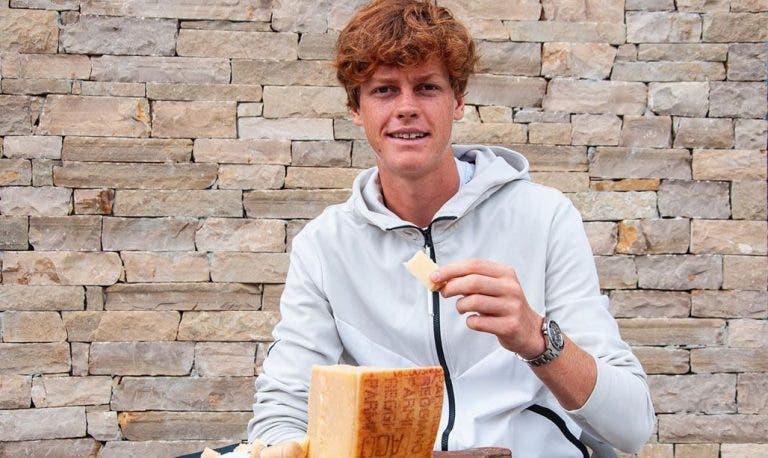 Sinner coleciona patrocinadores e até já promove queijo parmesão