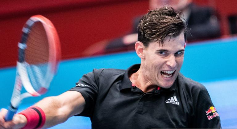 Thiem inicia defesa do título em Viena com vitória (dura) sobre o número 529 ATP