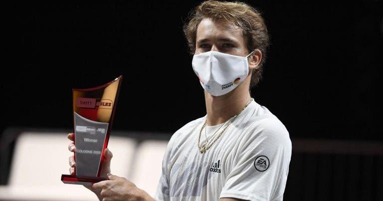 Zverev: «Depois de perder o US Open queria dar tudo para ganhar um título»