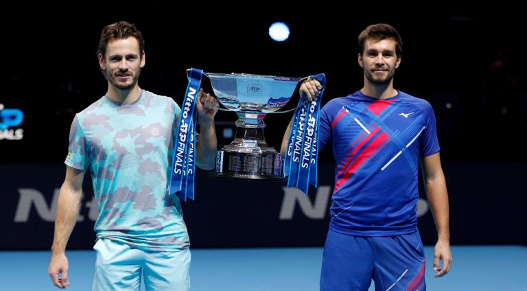 Koolhof e Metkic vencem primeiro (e possível último) título juntos nas ATP Finals