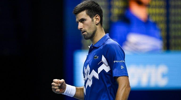 Vajda: «Sem o episódio do US Open Djokovic podia ter feito uma época ainda melhor»
