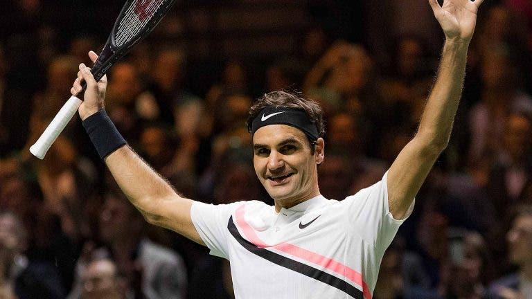 ATP 500 de Roterdão aguarda chamada de Roger Federer