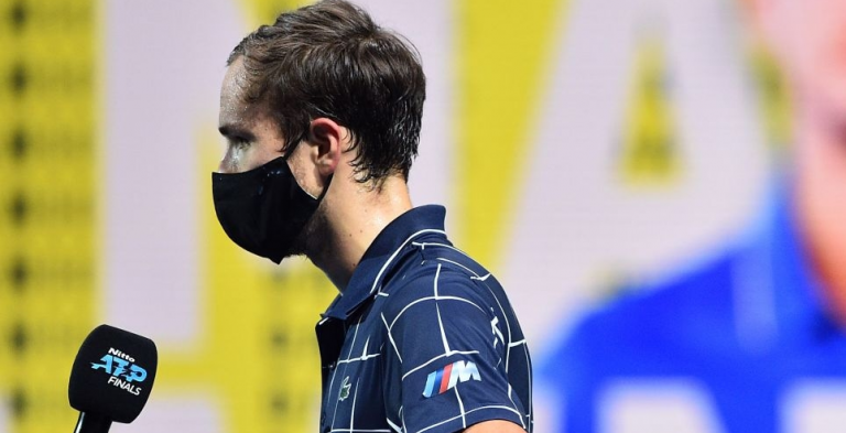 Daniil Medvedev: «Gosto muito de defrontar o Djokovic»