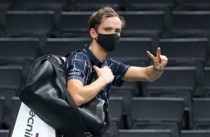 Medvedev pronto para as ATP Finals: «Título em Paris deu-me muita motivação»