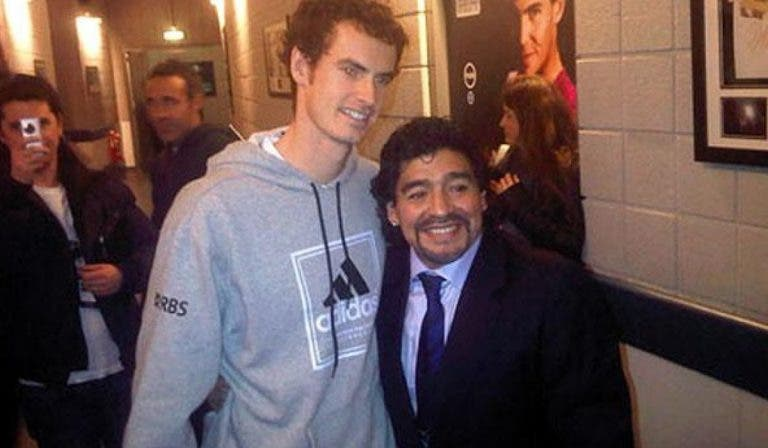 Andy Murray conta história curiosa sobre Maradona