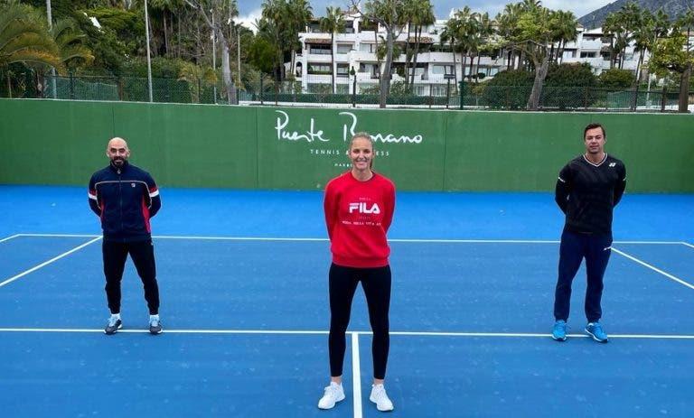 Karolina Pliskova anuncia novo (e muito famoso) treinador