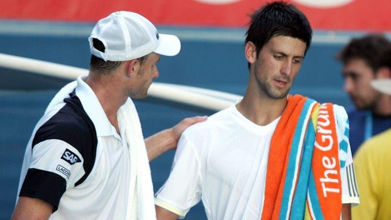 Roddick: «Djokovic será o melhor de todos os tempos se igualar o recorde de Slams»