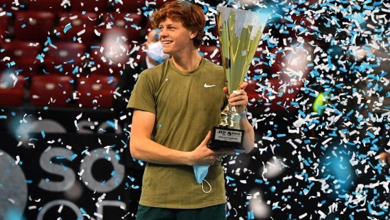 Sinner e o 1.º título ATP: «É uma grande alegria, mas ainda tenho muito que fazer»